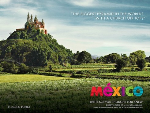 mexico the place you thought you knew campaign pyramid